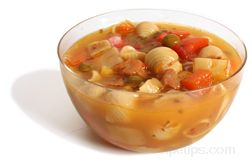 chicken vegetable soup Glossary Term
