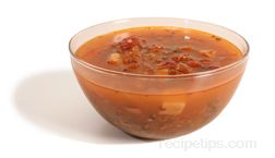 manhattan clam chowder Glossary Term
