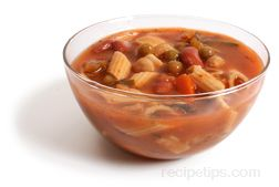 Minestrone Soup Glossary Term