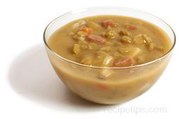 split pea and ham soup Glossary Term