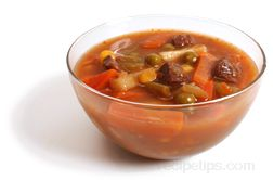 vegetable beef soup Glossary Term