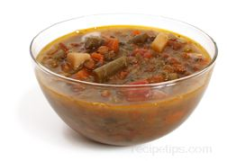 Lentil Vegetable Soup Glossary Term