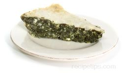 spanakopita or spinach pie Glossary Term