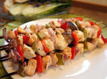 Grilled Chicken Kabobs Recipe