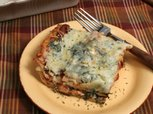 Light and Healthy Spinach Lasagna