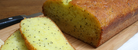 Quick Lemon Poppy Seed Bread