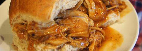 Simple Slow Cooker BBQ Chicken