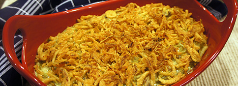 Not The Usual Green Bean Casserole