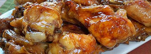 Sweet Teriyaki Chicken Wings