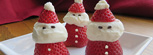 Strawberry & Cream Santas Recipe