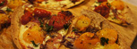 Healthy Roasted Tomato Tortilla Pizza Recipe