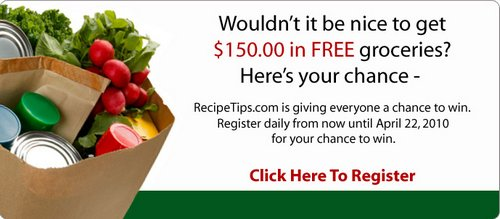 $150 Grocery Giveaway