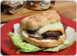 Grilled Turkey Burgers with Onion Relish Recipe
