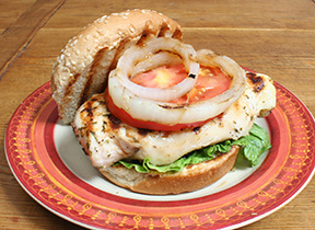 Grilled Lemon Herb Chicken Sandwich