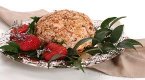 Almond and Turkey Cheeseball Recipe