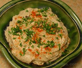 Baba Ghanoush Eggplant Dip Recipe