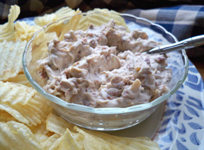 bacon  onion dip Recipe