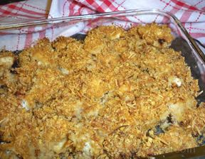Baked Crunchy Chicken Recipe