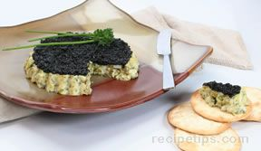 egg salad caviar appetizer Recipe