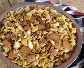 cereal mix appetizer Recipe