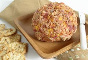 cheddar and bacon cheese ball Recipe