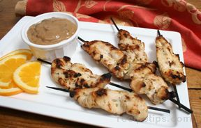 chicken satay and thai peanut sauce Recipe