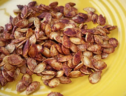 Cinnamon and Sugar Pumpkin Seeds