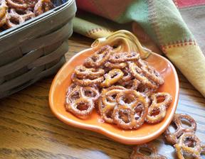 Cinnamon Pretzels