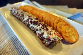 Clam Cheese Log Appetizer
