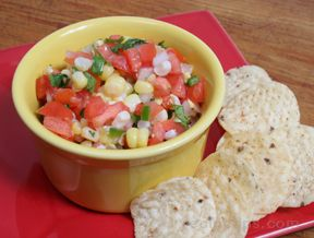 fresh corn salsa Recipe