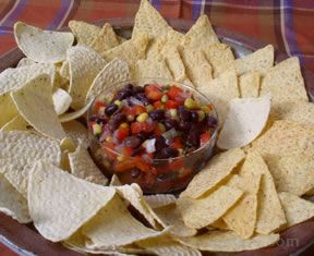 black bean and corn salad or salsa Recipe