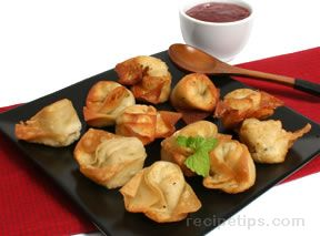 Crab Rangoon Classic Stuffed Wonton Recipe