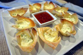crab rangoon baked Recipe