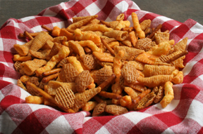 Cracker Mix for a Crowd Recipe