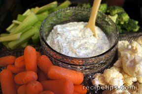 simple dill vegetable dip Recipe