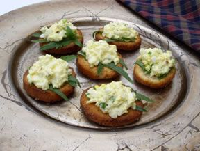 Egg Salad Bruschetta