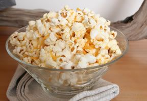 Garlic Cheese Popcorn Recipe
