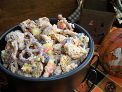 halloween chex mix Recipe