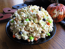 halloween pull-a-part popcorn ball Recipe