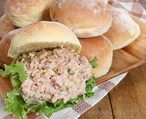 ham salad sandwiches Recipe