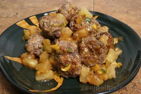 Hawaiian Meatballs Recipe