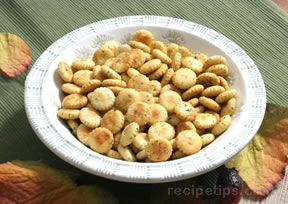 dilled oyster crackers Recipe