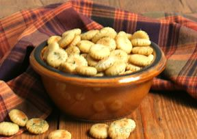 Oyster Cracker Nibbles Recipe