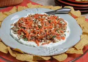 Layered Oriental Dip Recipe