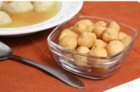 mandlen crackers - soup nuts Recipe