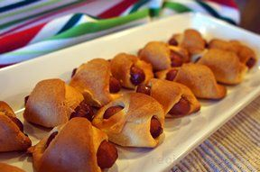 mini pigs in a blanket Recipe