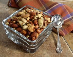 roasted mixed nuts Recipe