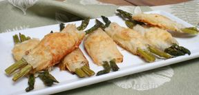 phyllo wrapped asparagus Recipe
