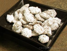 puppy chow snack mix Recipe