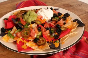 quick and easy nacho appetizer Recipe